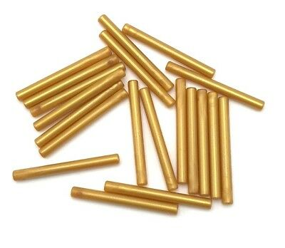 Lego Lot Of 20 New Pearl Gold Bar 4l Lightsaber Blade Star Wars Wand