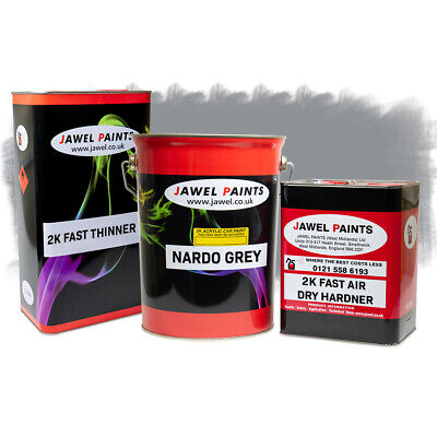 2k Acrylic Car Paint  Addi Nardo Grey 12.5Litre Kit Direct High Gloss