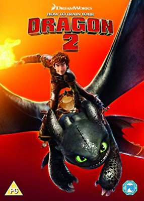 How To Train Your Dragon 2 - 2018 Artwor DVD NEW