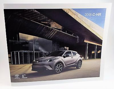 2018 Toyota C-HR Genuine USA Factory Sales Brochure - Just Out! Get it First!