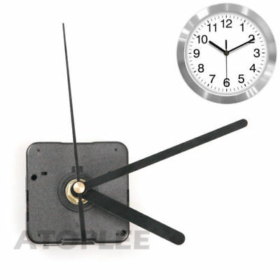 Wall Clock Quartz Movement Mechanism Battery Operated DIY Repair Parts-Kit