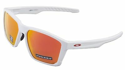 a57ebcf281 Oakley Targetline Sunglasses OO9397-0358 Polished White Frame W  Prizm Ruby  Lens