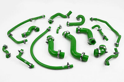 Stoney Racing Mazda MX5 MK1 1.6 Silicone Coolant & Breather Hose Kit Green Miata