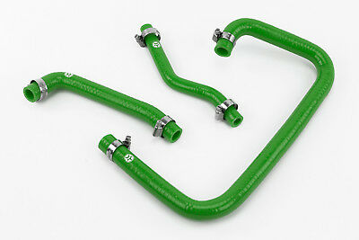 Stoney Racing Land Rover Defender 300TDI Silicone Breather Crankcase Hoses Green