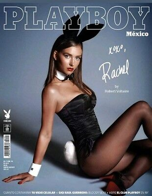 Mexican Magazine Playboy Rachel Cook 2018 Mexico Spanish Sexy Hot New