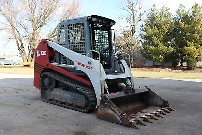 Takeuchi Tl130 2 Speed Loader With Cab Heat And Air Lots Of New Parts