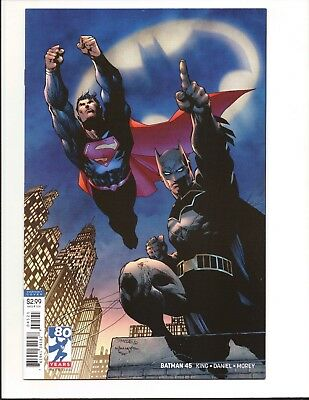 Batman #45 1st Print Jim Lee Variant Cover The Gift Part 1 Booster Gold DC X³