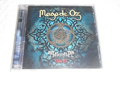 Cd- Mago De Oz, Atlantia  Gaia Iii / New / Sealed ( 2 Cd Set )