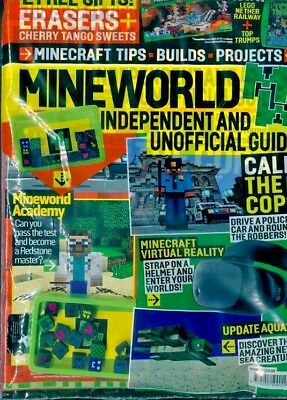 Mineworld Minecraft Magazine Issue 33 ~ New Sealed Pack ~