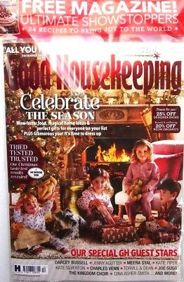 Good Housekeeping Magazine December 2018 Sealed With Ultimate Showstoppers Mag
