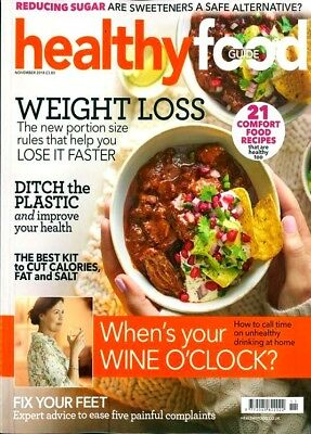 Healthy Food Guide Magazine Issue November 2018 ~ New ~