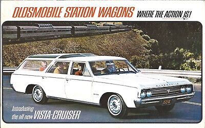 1964 Oldsmobile Station Wagon brochure, 8 pages, $5.00 free shipping
