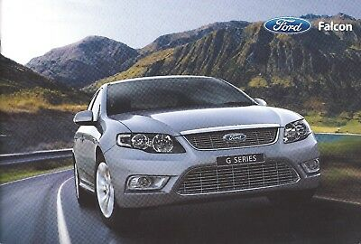 2008 Ford Falcon brochure, Australian, 44 pages, a quality showroom piece