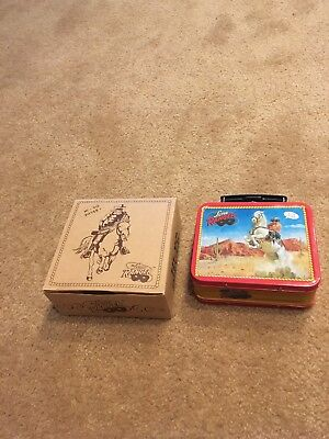 The Lone Ranger Collector Fossil Watch Set W/COA 1994 Complete Ltd Ed Lunchbox