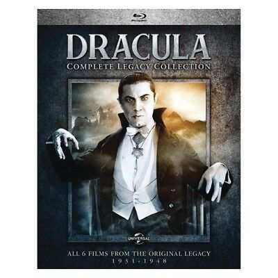 Uni Dist Corp Mca Br61185843 Dracula-Complete Legacy Collection (Blu Ray) (4D...