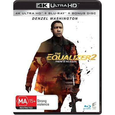 EQUALIZER 2  [4K UHD Blu Ray]  Brand New & Sealed.