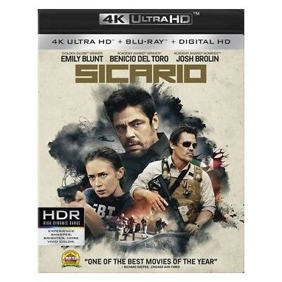 Lions Gate Home Ent Br48816 Sicario (Blu Ray/4Kuhd)