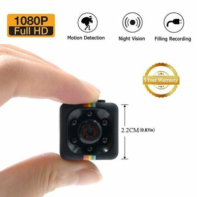 1080P Mini Spy Cam Hidden HD Night Vision&Motion Detection-Home Security Camera