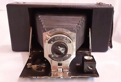 """Vintage Ansco """"Buster Brown"""" Large Folding camera-Great Condition 1912"""