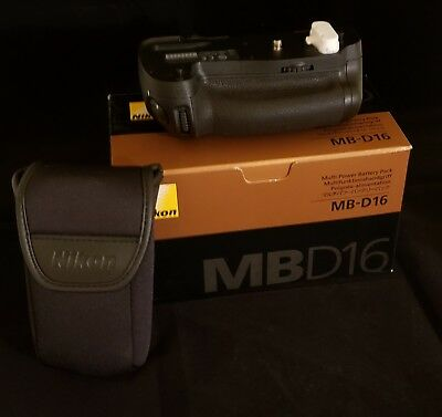 Bundled: Nikon MB-D16 Multi Power Battery Pack w/ Messenger Bag and Cleaning Kit