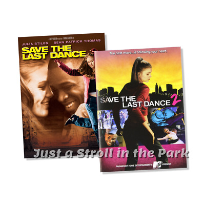 Save the Last Dance: 1 and 2  Complete Romance Movie Series   2 DVDS LIKE NEW