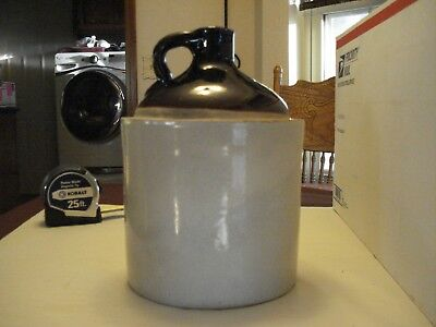 "Antique Ceramic Whiskey Jug 10"" x 7"""
