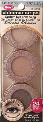 Physicians Formula Shimmer Strips  Shadow/Liner 6409 Nude