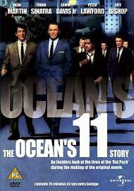Ocean's Eleven - The Documentary (DVD, 2002) *New & Factory Sealed*