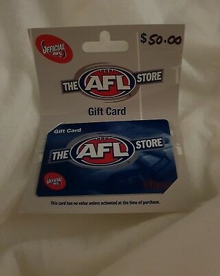 Afl Store Gift Card