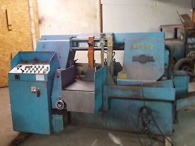 """DoAll C-4100a Automatic Bandsaw 16"""" round Cap."""