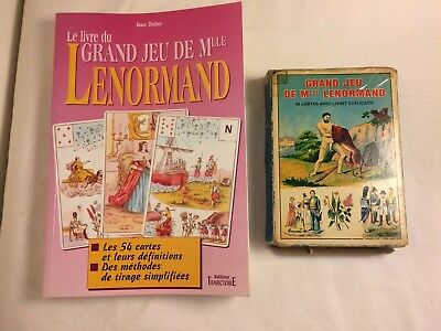 Astro Mythological by Mlle Lenormand 54 Cards With French Book