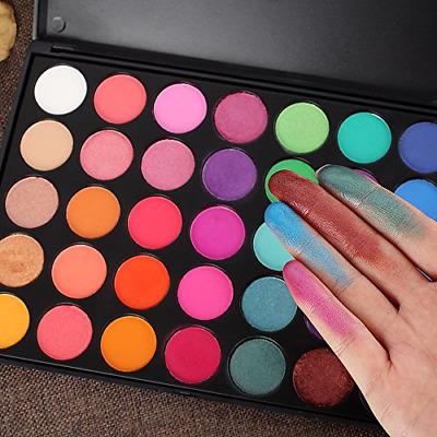 Pro 35 Color Eyeshadow Makeup Palette GLAM High Pigmented 35B 35A 40 US