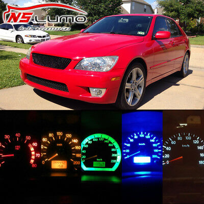 LED Light Bulbs Kit Gauge Cluster Speedometer Panel Instrument Lexus IS300 01-05