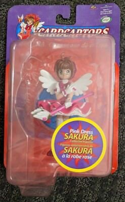 CLAMP Cardcaptors Card Captor Sakura in Pink Dress - Japanese Anime Figure Toy