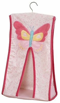 NEW Suncrest Beyond the Meadow Nappy Stacker Pink Butterfly Girls Nappies