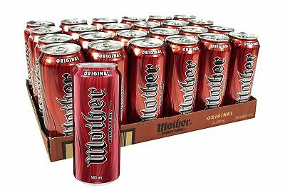 Mother Original Energy Drink Multipack Large Cans 24 x 500mL