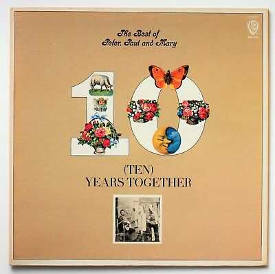 *LP* The Best of PETER, PAUL AND MARY - 10 (Ten) Years Together // US 1979 FOC