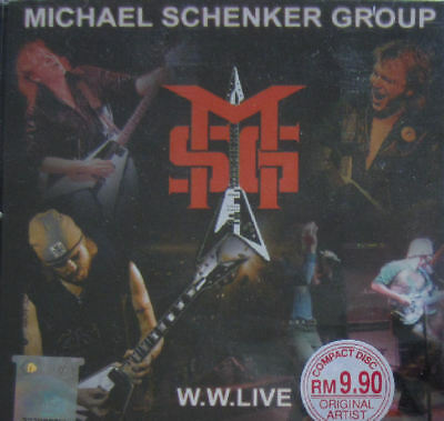 MICHAEL SCHENKER GROUP: W.W.LIVE - CD [RARE Asian edition]