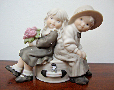 Kim Anderson Figurine Vintage 1996 Enesco Just You and Me Always