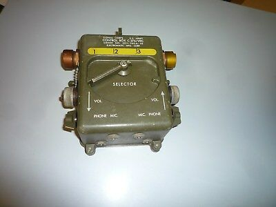 Controil Box C -375 VRC  US Army