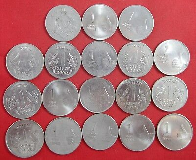 18 vintage India coins