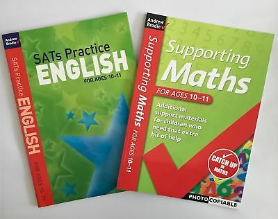 SATs Practice English & Supporting Maths for Ages 10-11 NEW!!!!