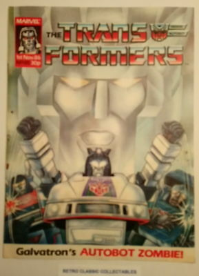 Marvel UK - The Transformers - Comic - No.85 - 1st Nov. 1986