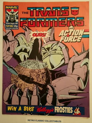 Marvel UK - The Transformers & Action Force - Comic - No.182 - 10th Sept. 1988