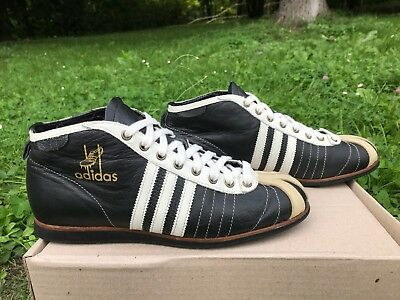 37962dd347887b RARE! VINTAGE ADIDAS High Top Shoes 70 s Signed Detroit Pistons ...