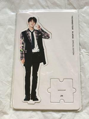 BTS Bangtan JIN TRILOGY EPISODE Ⅲ WINGS TOUR JAPAN Limited Official Paper Stand