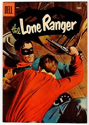 THE LONE RANGER #49 - Dell 1956 FN Vintage Comic
