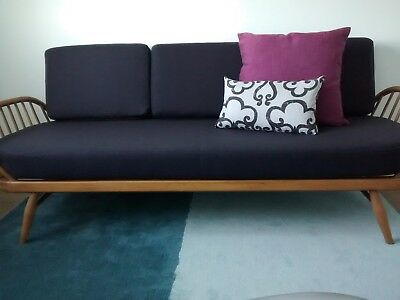 CUSHION SET for BEAUTIFUL  ERCOL DAY BED / STUDIO COUCH 100% WOOL