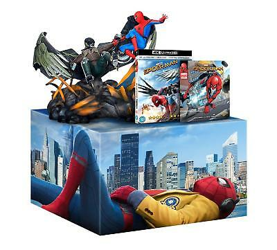 Spider-Man Homecoming Edición Limitada 4K+2D Blu-Ray+ Figurilla+ Comic New&box