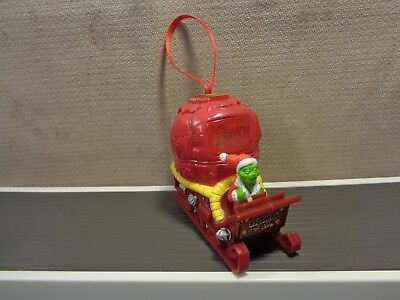 How the Grinch Stole Christmas ROLLING Ornament by Dr. Suess Enterprises (810)